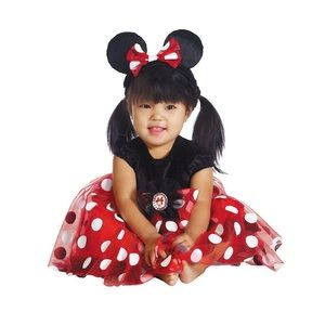 NWT Disney Baby Minnie Mouse Costume 6-12 Months
